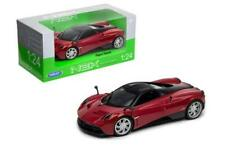 Welly Pagani Huayra 1/24 Voiture Miniature Rouge 24088w-rd