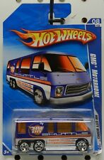 GMC MOTORHOME BUS 116 BLUE SHUTTLE 2010 BF GOODRICH TIRES HW HOT WHEELS
