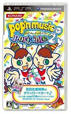 Used PSP Pop'n Music Portable 2 Japan Import ((Free shipping))、