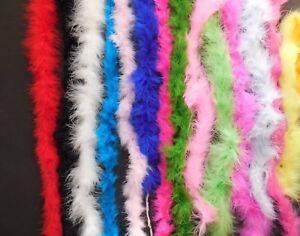 New Regular Medium Weight Marabou Various Colors and Lengths Costuming Raw Goods