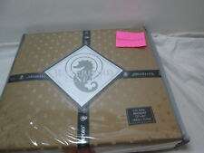 "Waterford Linens OLYMPIA Cal King Bedskirt 72""x84""  18"" Drop ~ GOLD NIP"