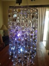 SHEshed Sparkling Chandelier Color changing Battery Operated