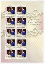 Australia 2015 MNH Birth Princess Charlotte Cambridge Royal Baby 10v M/S