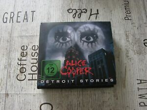 Alice Cooper - Detroit Stories - CD+DVD - Motörhead, Dio, Accept