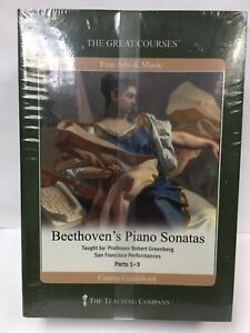 Great Courses DVD Beethoven's Piano Sonatas by Robert Greenberg