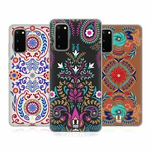 HEAD CASE DESIGNS BOHEMIAN FLORAL PRINT SOFT GEL CASE FOR SAMSUNG PHONES 1
