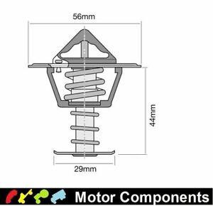 TRIDON THERMOSTAT BLISTERED (HIGH FLOW) TT281-180