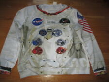 Rare Vintage NEIL ARMSTRONG Heavy Astronaut Suit 2X Long Sleeve Shirt APOLLO 11