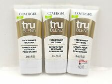 Covergirl TruBlend Face Primer for Oily Skin (Lot of 3)
