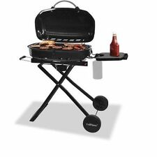 Portable Gas Grill Tailgating BBQ Camping Barbecue Stainless Steel Burner NEW