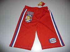 Rouge Bart simpson short taille 116 pour garçons 5-6 ans Bermudes, les simpson