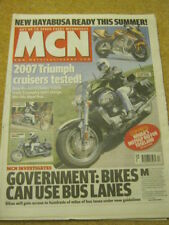MCN - MOTORCYCLE NEWS - TRIUMPH CRUISERS - 21 March 2007