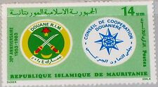 MAURITANIA MAURETANIEN 1983 792 533 Customs Coop Council Zoll Zusammenarbeit MNH