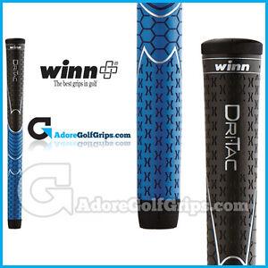 Winn Dri-Tac Midsize Soft Feel - Black / Blue x 1