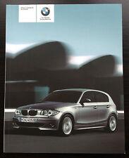 Original BMW E87 2005 Modell Jahr Handbuch ohne i-Laufwerk & Navigation