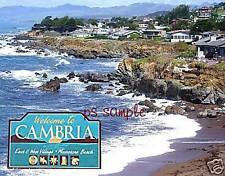 California - CAMBRIA - Travel Souvenir Fridge Magnet