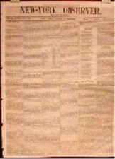 Newspaper Texas New Mexico Barnesville Ga Tom Thumb St. Bernard Convent 1852