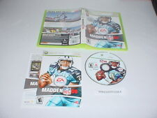 Madden Nfl 08 game complete in case w/ manual for Microsoft Xbox 360