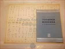 SMALTI CHIMICA RICETTE: Luigi Angelino, COSMETICA MODERNA 1946 Vallardi Tavola