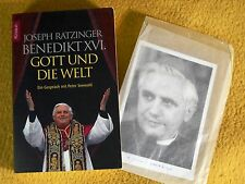 signiert - Autogrammkarte - Joseph Ratzinger - Benedikt XVI Papst Kardinal