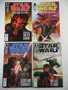 Dark Horse Star Wars Darth Maul Death Sentence #1, 2, 3, 4 High Grade Series