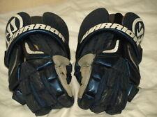 warrior burn pro navy dark blue lacrosse gloves Bpgs15 L