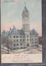 City Hall Lowell Massachusetts 1907    # D7