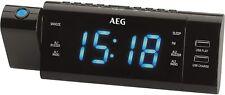 AEG Radio Alarm Clock Projector MRC 4159