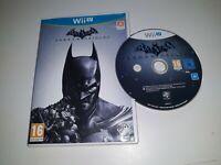 * NINTENDO Wii U Game * BATMAN ARKHAM ORIGINS * N
