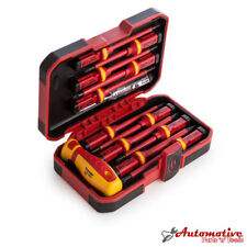 Electricians VDE Insulated Screwdriver Set with Interchangeable Blade 12pc Kit