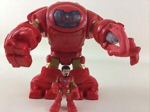 Super Hero Adventures Stark Tech Armor Tony Stark Iron Man 2014 Hasbro Marvel