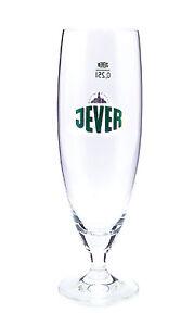 Jever 0,25l Glas / Gläser, Pokalglas, Markenglas, Bierglas NEU