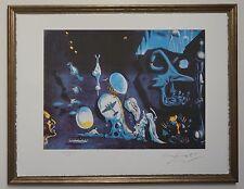 """Salvador Dali """"Idylle atomique et uranique"""" Lithograph Limited 2000 pcs."""