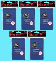 500 ULTRA PRO BLUE PRO-MATTE STANDARD SIZE DECK PROTECTORS Card Sleeves MTG