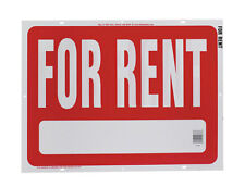 New! Hy-Ko English 18 in. H x 24 in. W Plastic Sign For Rent RS-603