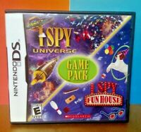 I Spy Universe + Fun House  -  Nintendo DS DS Lite 3DS 2DS Game Complete Tested