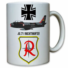 JG 71 Jagdgeschwader Richthofen Düsenjäger Bundeswehr BW Luftwaffe Tasse #8786
