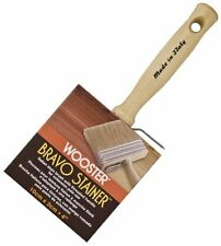Wooster Brush F5116-4 Bravo Stainer Stain Brush, 4-Inch