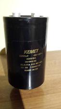 Kemet Condensateur aluminium électrolytique 2200UF 400 V vis-ALS31A 222 400
