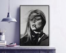 "Terry O'Neill ""Brigitte Bardot with Cigar, Spain 1971"" Photography Print / Vogue"