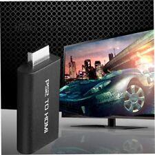 Adaptateur convertisseur de câble PS2 vers HDMI avec sortie audio pour moniteur.