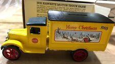 Ertl Coca Cola Coke 1931 Hawkeye Motor Truck Bank w/key Stock #B225