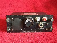 LORAL A151B COCKPIT VOICE RECORDER CONTROL UNIT P/N 93-A151-30