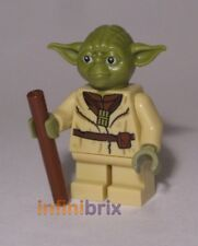 Lego Yoda Minifigure from sets 75208 Star Wars Jedi NEW sw906