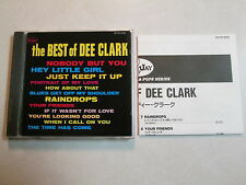 THE BEST OF DEE CLARK JAPAN IMPORT MONO OOP CD ROCK FUNK SOUL RHYTHM BLUES RARE