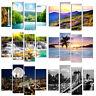4PCS Modern Art Oil Landscape Painting Canvas Print Wall Art Picture Home Decor