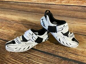 NORTHWAVE Triathlon Road Cycling Shoes Biking Boots 3 Bolts Size EU43, US10.5