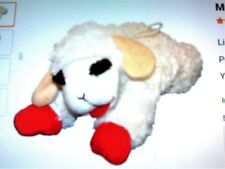 "DOG TOY  10"" Large Lambchop Plush (Squeaky Dog Toy)"