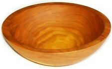 7.5 Inch Solid Cherry Wood Salad Bowls From the Holland Bowl Mill