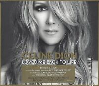 CELINE DION / LOVED ME BACK TO LIFE - DELUXE EDITION * NEW CD 2013 * NEU *